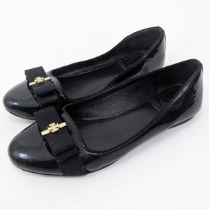 💥💖Tory Burch Trudy Patent Leather Ballet Flats